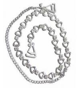 China Rhinestone Bra Straps Diamante Bra Straps on sale