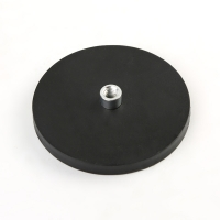 Buy cheap Internal Thread Dia22mm N52 Rubber Coated Magnet from wholesalers