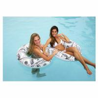 Buy cheap Pool Candy Benjamin's Hundred Dollar Bills Pool Tube Inflatable Ring Safety Raft from wholesalers