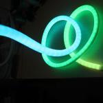 Buy cheap dmx SPI digital RGB WS2811 led neon 12v addressable 360 degree neonflex from wholesalers