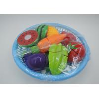Buy cheap Kitchen Pretend Role Play Children's Play Toys 12 Pcs Fruit Vegetable Cutting from wholesalers