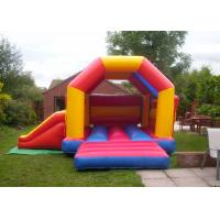 Buy cheap Multi Color PVC Inflatable Combo , Safety Kids Combo Jumpers For Rent from wholesalers