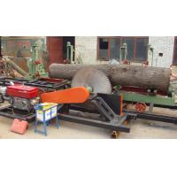 Buy cheap Diesel Engine powered portable circular sawmill, portable swing blade sawmill from wholesalers