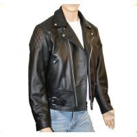 Buy cheap fancy high quality different leather wear comfortable in the winter jacket skinny biker leather jacket men from wholesalers