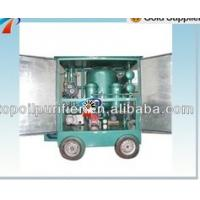 Buy cheap Mobile Vacuum Oil Treatment Plant for recycling waste transformer oil ,switch oil,With Trailer Fully-enclosed from wholesalers
