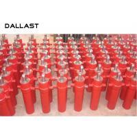 Dump Trailer Hydraulic Cylinder Multi Stage Telescopicing , 3 Stage Telescoping Hydraulic Cylinder