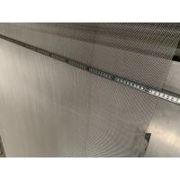 Buy cheap 1.22meter width smooth surface Chemical Fiber Stainless Steel Screen Mesh from wholesalers