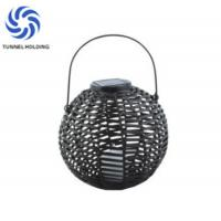 Buy cheap Solar Powered Decorative Lanterns With Flickering , Outdoor Candle Lanterns For Patio from wholesalers