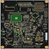 Buy cheap Black Solder Mask IPC-A-160 1.2mm Prototype PCB Board from wholesalers