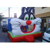 Buy cheap Popular Moonwalk Bounce House Inflatables Big 3D Design Cat from wholesalers