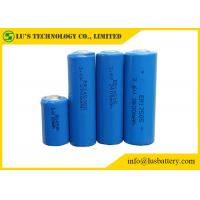 China Cylinder Shape Lithium Thionyl Chloride Battery 3.6V Lithium Battery Blue Color on sale