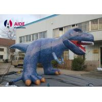 Buy cheap 6M Party Decoration Inflatable Cartoon Characters Dinosaur Costume For Advertising from wholesalers