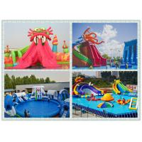 Buy cheap 0.9mm pvc tarpaulin Inflatable Water Toys Amusement Park , The Biggest Inflatable Water Park from wholesalers
