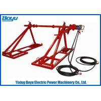 Buy cheap 2400mm Hydraulic Drum Elevators Conductor , 50kn - 80kN Drum Stands from wholesalers