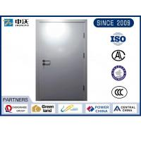 Buy cheap Metro Silver Steel Insulated Fire Door With Solid Structure Wear Resistance from wholesalers