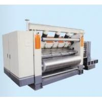 Buy cheap Single Facer Corrugated Machine Fingerless Vacuum Suction Type High Speed from wholesalers