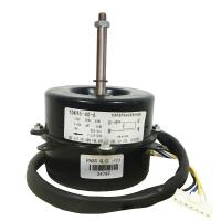 Buy cheap Single Phase 40w 6 Poles Air Conditioner Motor Air Cooler Fan Motor Black Housing HVAC System product