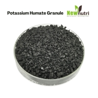 Buy cheap 60% HA 95% Water Solubility Potassium Humate Fertilizer Granular Form from wholesalers