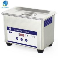 Buy cheap 800ml 35W  Portable Benchtop Ultrasonic Cleaner Digital Panel For  Jewellery / Glasses from wholesalers