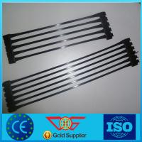 Buy cheap HDPE/PP Uniaxial Geogrid for Reinforced Soil Geogrid 1*50m from wholesalers