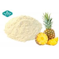 Buy cheap Healthy Pineapple Fruit Powder / Freeze Dried Fruit Powder Drink For Anti - Aging from wholesalers