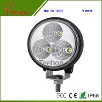 Buy cheap 9 Watt Round LED Working Light for Cars, SUV, Motorcycle and Bikes from wholesalers