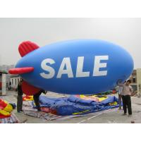 Buy cheap flying balloon inflatable blimp shape balloon helium blimp for sale from wholesalers