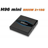 Buy cheap H96mini S905W 2G 16GB Android 7.1 Amlogic s905w TV BOX 2.4G/5G WiFi LAN Bluetooth USB HDMI from wholesalers