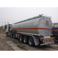 Buy cheap 45000 liters fuel Tanker Semi Trailer , 3 axle 50000 liters Oil Tanker Trailer , Truck Fuel Tanker trailer For Sale from wholesalers