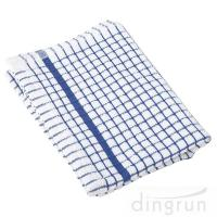 Buy cheap 100% Cotton Kitchen Tea Towels , Azo Free Housework Kitchen Cleaning Cloth 50*70cm from wholesalers