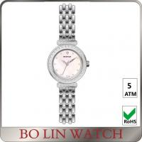 Buy cheap Stone Index Rose Gold And Silver Ladies Stainless Steel Watches With Mesh Stap from wholesalers
