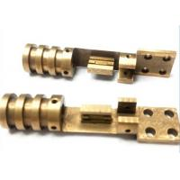 China Cast Iron High Precision Brass Electrical Sockets Coating Galvanization Surface on sale