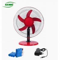 Buy cheap 3 Speed 16 Inch Ac Dc Table Fan With Rechargeable Battery Lower Noise from wholesalers