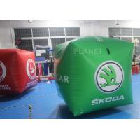 Buy cheap Fire Retardant Inflatable Marker Buoy With Logo Printed , Inflatable Floating Tube from wholesalers