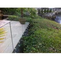 Buy cheap Inox stainless steel patch fitting / standoff glass railing for exterior use product