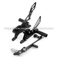 Buy cheap Yamaha R1 Motorcycle Rear Sets With Laser Printing Logo 0.55kg Weight from wholesalers