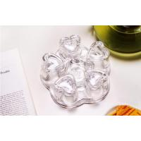 Buy cheap Small Crystal Borosilicate Glass Teapot Warmer With A Tea Light Candle from wholesalers