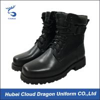 Buy cheap Custom Size Security Uniform Accessories Classical Army Combat Leather Boots from wholesalers