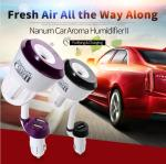 Buy cheap 360 Degree Adjustable 50ml Car Essential Oil Diffuser Humidifier from wholesalers