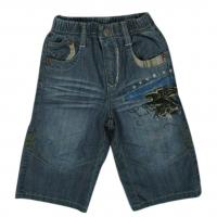 Buy cheap Boys short jeans 2-7 with elasticated waist from wholesalers