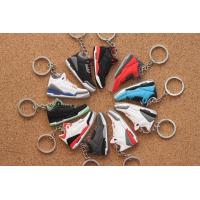 Buy cheap Nike Air Jordan 3 AJ Keychain Power Blue Black Cement Fire Red True Blue from wholesalers