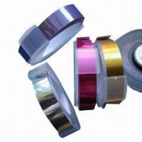 Buy cheap Adhesive Metallic Tapes with 9mm Width, Suitable for Tape Writers from wholesalers