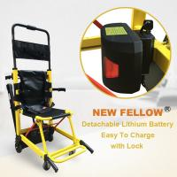 Buy cheap Mini Motorized Ambulance Stair Chair Hand Trolley With 2 Years Warranty from wholesalers
