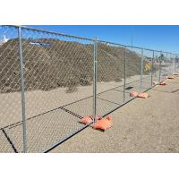 Buy cheap Movable 	Temporary Mesh Fence Panels , Metal Security Fence Panels for Crowd Control from wholesalers