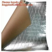 Buy cheap Aluminum Foil-Scrim-Kraft Paper Facing insulation material for building construction,radiant barrier laminated woven clo from wholesalers