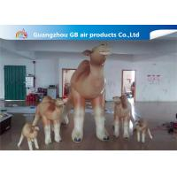 Buy cheap Customized Cartoon Shape Inflatable Camel Animal Model For Event Party product