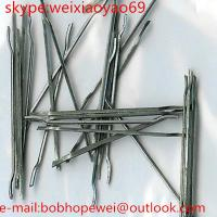 Buy cheap steel fiber for concrete reinforcement >1100 mpa from wholesalers