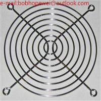 Buy cheap 200 mm 254mm 304 stainless steel metal fan guard/chrome wire fan guards Protect PC Computer cooling fan from wholesalers