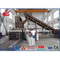 Buy cheap 37kw Horizontal Plastic Film / Waste Paper Baler With Feeding Manual Tie from wholesalers