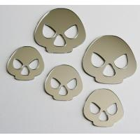 Buy cheap PC / PETG / PMMA Mirror Acrylic Sticker OEM For Indoor / Wall Decoration from wholesalers